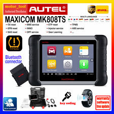 Autel MK808TS OBD2 Diagnostic Tool Scanner Full Systems Key Coding TPMS Program