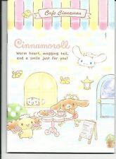 Sanrio Cinnamoroll Composition Notebook Cafe Cinnamon