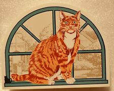 Cat's Meow Village Purebred Cats: American Shorthair Red Tabby