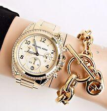 Original Michael Kors reloj fantastico mk5166 blair color: oro nuevo