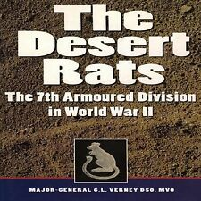 WW2 British Desert Rats 7th Armoured Division in World War II Reference Book