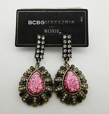 BCBGeneration Multi-Color stone Drop Earring Msrp $78.00 **NEW WITH TAG**