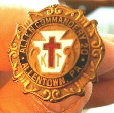 Vintage ~ Knights Templar (Masons) ~Ladies Hat Pin ~RARE