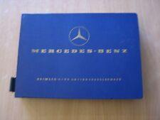Ersatzteile Katalog Mercedes-Benz 220b  W111 Parts list catalog Stand 04.1963