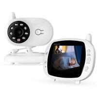 """Moniteur vidéo pour bébé 3,5 """"sans fil LCD de vision nocturne numérique Play"""