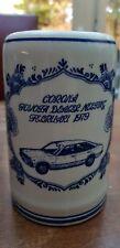 Vtg Delft Blue White Corona Mug Tankard Stein Toyota Dealer Meeting Febr. 1979