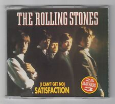 THE ROLLING STONES I Can't Get No Satisfaction RARE 1990 London CD Single N.MINT