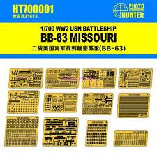 Hunter 1/700 USS Missouri BB-63 para Tamiya HT700001 Calidad Superior