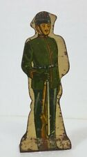 """Vintage Marx Tin Litho Toy Soldier #10 Kings Royal Rifle Corps 3½"""" c1930s"""