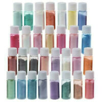 30 Colors Mica Powder Epoxy Resin Dye Pigment Natural Mica Mineral Powder
