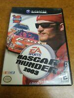 Nascar Thunder 2003 (Nintendo, Gamecube)(Tested)