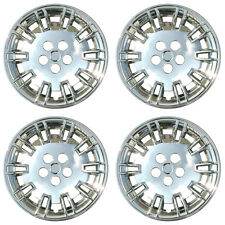 4 PC Set Chrysler 300 Chrome Wheel Hubcaps Covers Rim Skin Caps For Steel Wheels