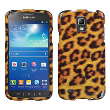 For AT&T Samsung Galaxy S4 Active i537 HARD Case Snap On Phone Cover Leopard