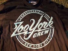 ZOO YORK Black short sleeve skater t shirt Zoo York Unbreakable T shirt  L NWOT