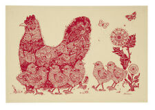 Geschirrtuch Mother Hen, Huhn Henne Küken von Ulster Weavers, Küchenhandtuch