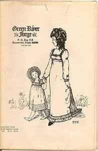 GREEN RIVER FORGE LITTLE GIRLS DRESS PATTERN