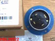 NEW Hubbellock HBL26522 60 AMP 600 VOLT FLANGED INLET