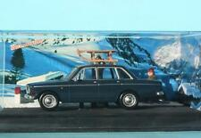 DIORAMA VOLVO 144 AUTOMATIC ROUTE DES ALPES LES SKIEURS CHAMBERY BARCELONNETTE