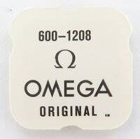100% GENUINE OMEGA CAL. 600-1208 MAINSPRING, NOS, UNOPENED IN PACKET.