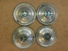 Set Of 4 1964 Ford Fairlane Sport Coupe Hubcaps