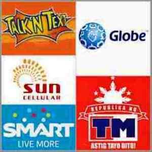 Smart, Globe, Sun, TM, Talk N Text P300 Prepaid eLoad
