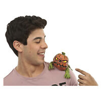 Pumpkin Shoulder Buddy Character Latex Halloween Costume Accessory Prop Decor