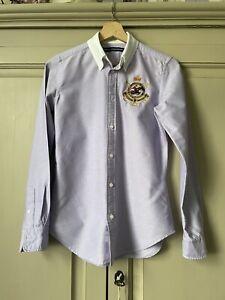 Ralph Lauren Polo Ladies Button Down Shirt (Size 4) UK 8