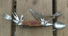 VINTAGE STELLAR 10 BLADE/TOOL KNIFE MULTI-TOOL MADE IN JAPAN FREE SHIPPING