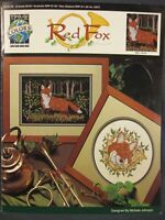 RED FOX Counted Cross Stitch Pattern Leaflet True Colors Wildlife Nature