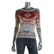 Denim & Supply Ralph Lauren 6936 Womens Ivory Pullover Sweater Top M BHFO
