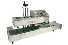 Stainless Steel LX6000 Continuous Induction Sealer Machine 220V Electromagnetic