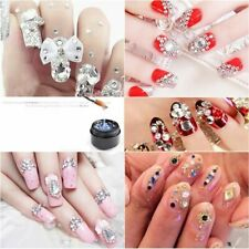 Nail Art Rhinestone Gel Glue Adhesive Uv Gel Nail Polish Glue for Crystal Gems