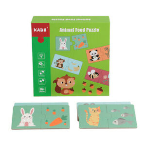 Animal Matching Puzzles With Error-Correction Mechanism Pre-Primer In 2 Pieces