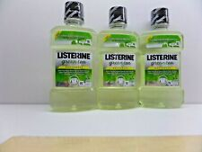 3 BOTTLES OF LISTERINE GREEN TEA MOUTHWASH 250 ML, ANTI-CARIES, ALCOHOL-FREE