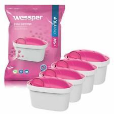 4x Wessper Aquamax MG Wasserfilter Magnesium für BRITA Maxtra Marella Amazon