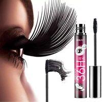 4D Silk Fiber Waterproof Durable Mascara Black Eyelashes Extension Mascara