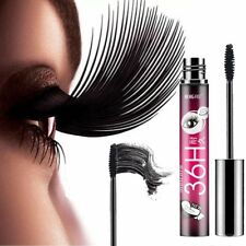 4D Silk Fiber wasserdichte dauerhafte Mascara Black Eyelashes Extension Mascara.
