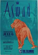 ASWAD, THADDEUS, MIDNIGHT DREAD SOUND SYSTEM original F-31 mint Fillmore poster
