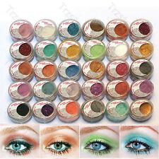 30 Metallic Glitter& Satin Eyeshadow Dust Loose Powder Makeup Set -Us Ship