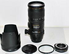 Nikon AF Sigma 70-200 mm 2.8 EX DG OS HSM + 1,4x, Top!
