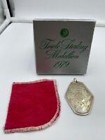 Vintage Towle Sterling Medallion 1979