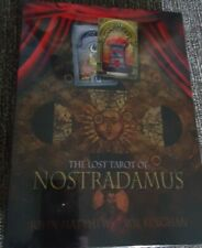 The Lost Tarot of Nostradamus - NEW and Sealed - Tarot Deck and Book - Matthews