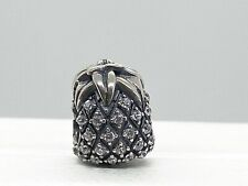 Authentic Pandora Charm Pineapple Sparkling Sterling Silver Bead #791293CZ
