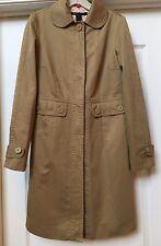Marc Jacobs Heavy 100% Cotton Khaki Beige Trench Coat, Size S.   Adorable!
