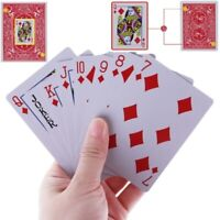 New Secret Marked Poker Cards See Through Playing Cards Magic Toys Magic Tricks