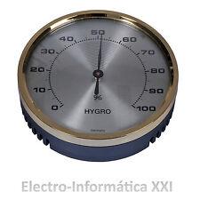 Higrometro Analogico Bimetalico 70mm Ideal Incubadoras Nacedoras Envio 24-72h