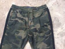 Para Hombre Camuflaje SKINNY HOLLISTER Chándal/Pantalones Deportivos/Chándal Pantalones M en muy buena condición