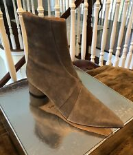 SIGERSON MORRISON TAUPE SUEDE BOOT, SIZE 9.5 B New in Box $359