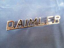 DAIMLER CHROME BOOT BADGE FITS DAIMLER SOVEREIGN (420) BD30305