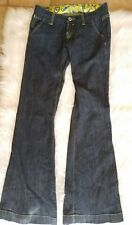 MISS ME Low Rise Boot Cut Flare Pocket Flap Stretch Jeans size 26
